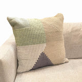 In/Out Teal/Multi Pillow