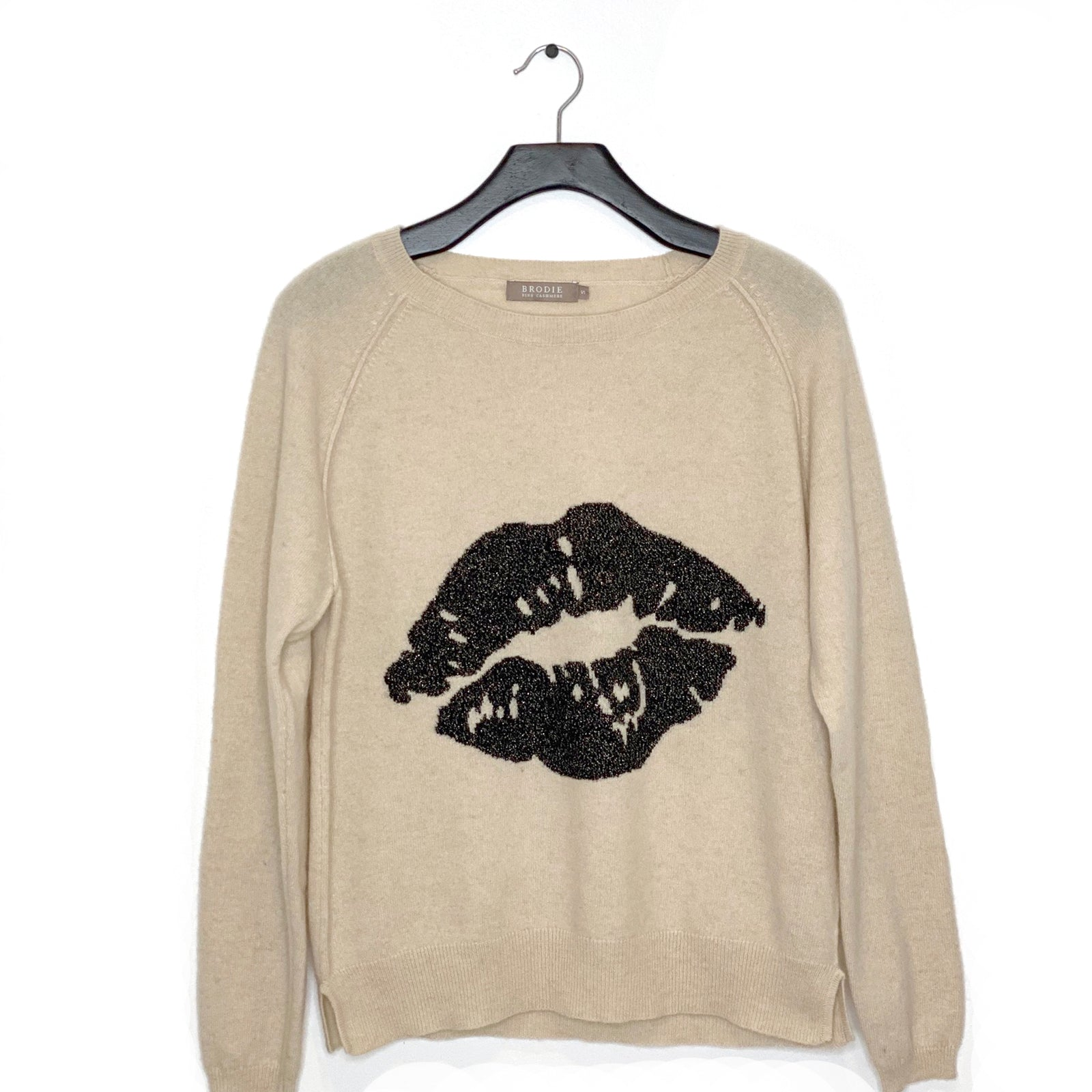 Lips Cashmere Sweater