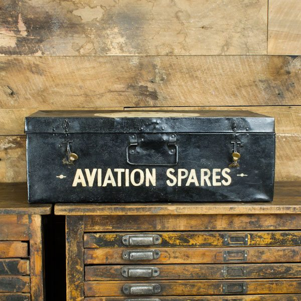 Steel Sinclair Aviation Trunk