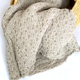 Textured Throw, Khaki