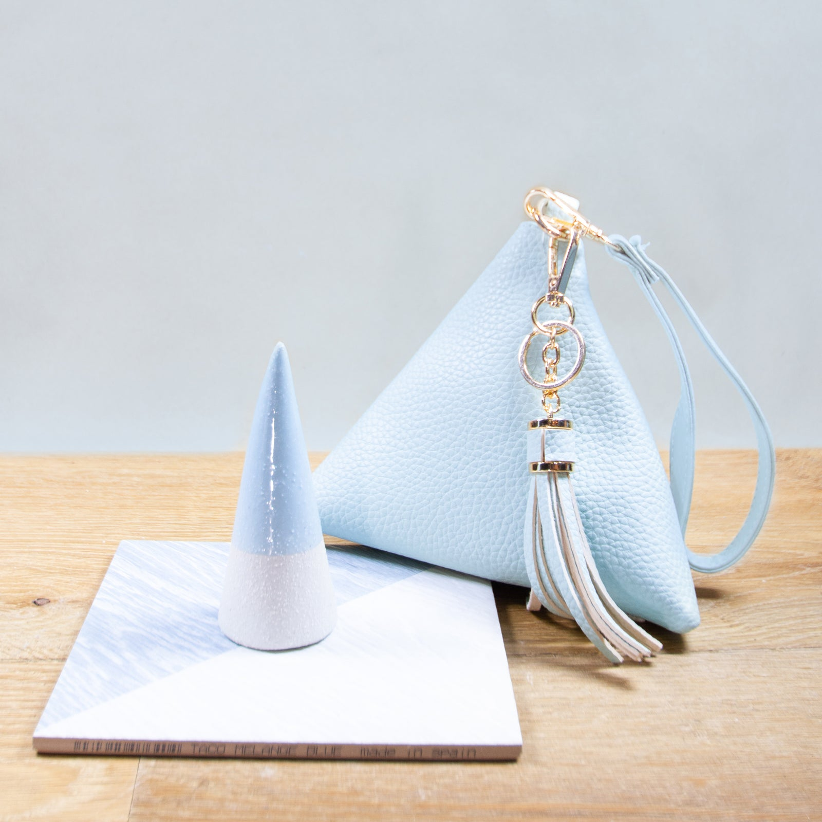 Triangle Wristlet Purse