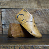 Wooden Baby Shoe Forms Pair