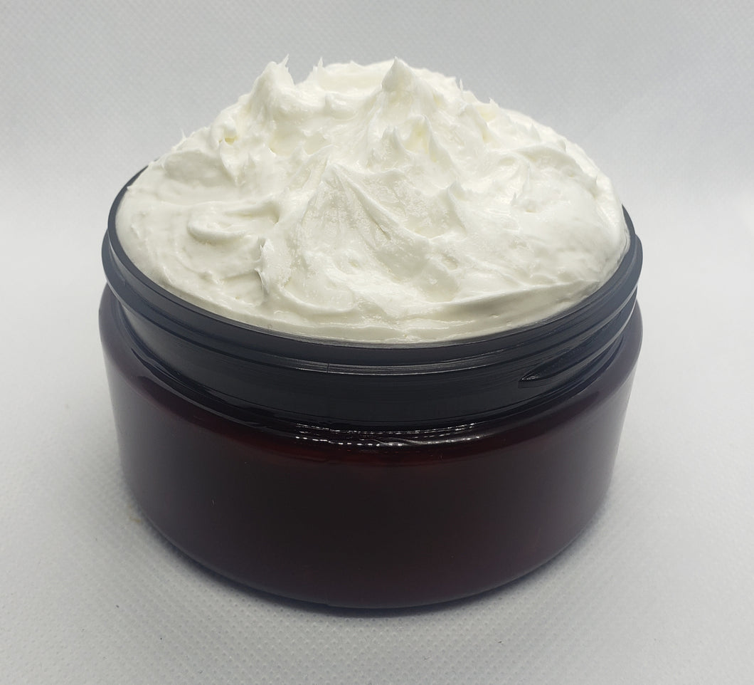 Whipped Mango Hair Butter -Our rich and creamy mango butter is terrific for all natural hair styles. It moisturizes, conditions, and gives protection from the elements while softening and adding a luxurious sheen to your tresses. Eight Ounce Jar. Ingredients - mango butter, refined shea butter, vegetable glycerin, extr…