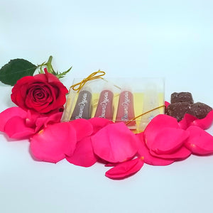 Limited Edition Roses & Chocolate Lip Gloss Box