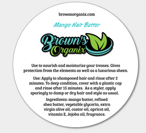 Brown's Organix Whipped Mango Hair Butter