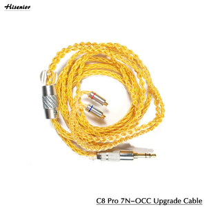 C8 Pro upgrade 7N OCC Detachable Cable