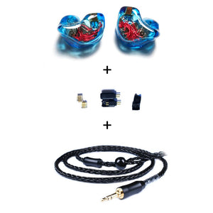 In Ear Monitors for Singers T8N Custom Molded with 8BAs