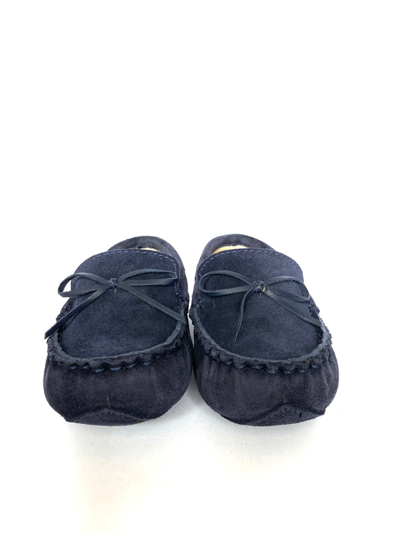 Baby Loafer Azul con lazo