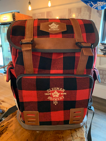 Sleeman Plaid Backpack