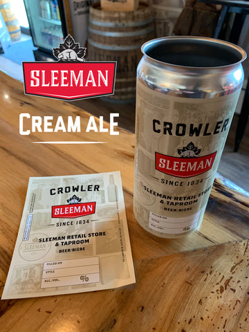 Cream Ale 32oz Crowler