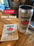 Honey Brown 32oz Crowler