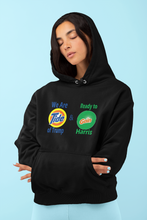Load image into Gallery viewer, WE ARE TIDE OF TRUMP & READY TO GAIN BIDEN/HARRIS HOODIE (PARODY)