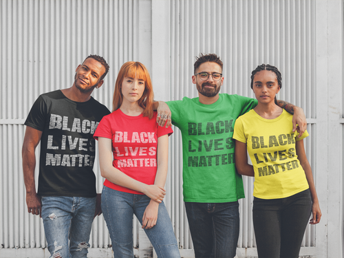 Black Lives Matter Say Their Names Unisex (Designed by Martin Jones Jr.)