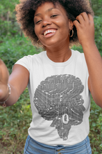 Load image into Gallery viewer, Black Is Beautiful Afro Wordle