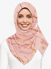 Load image into Gallery viewer, Marble Luxx Hijab- Dusty Pink | Best Hijab Online Singapore
