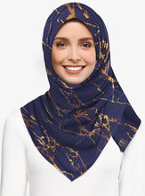 Load image into Gallery viewer, Marble Luxx Hijab- Sapphire | Best Hijab Online Singapore