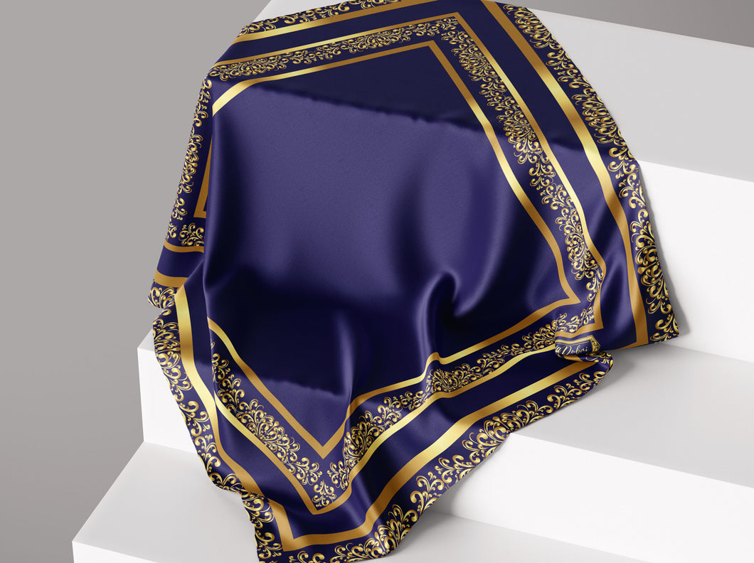 Timeless Classic- Royal | Dull Satin Hijab Singapore | Best Online Muslimah Tudung Fashion