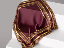 Load image into Gallery viewer, Timeless Classic- Rosewood | Dull Satin Hijab Singapore | Best Online Muslimah Tudung Fashion