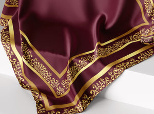 Timeless Classic- Rosewood | Dull Satin Hijab Singapore | Best Online Muslimah Tudung Fashion