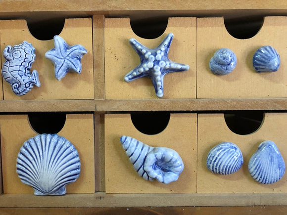 40 unit Pack of Ocean themed mosaic inserts (on sale)