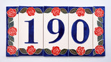 Red Rose House Number