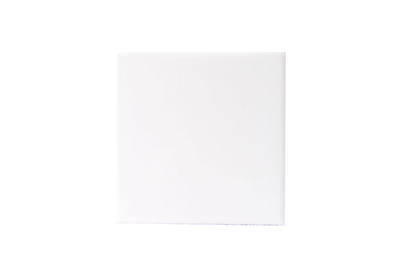 Wall Tile Plain White Large