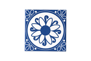 Wall Tile Blue Pattern 1 Large