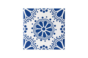 Wall Tile Blue Pattern 4 Large