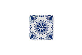 Wall Tile Blue Pattern 4 Small