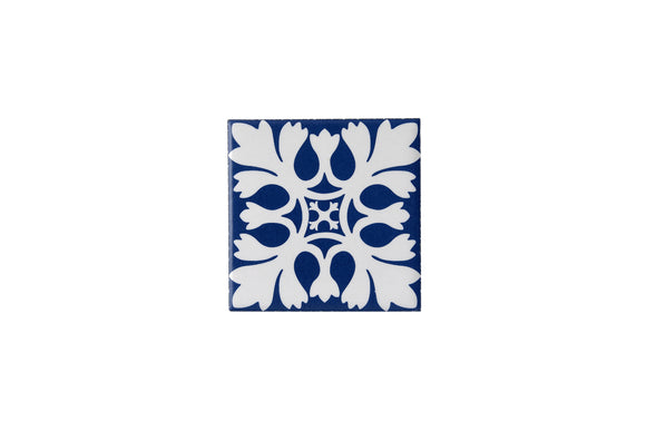 Wall Tile Blue Pattern 14 Small