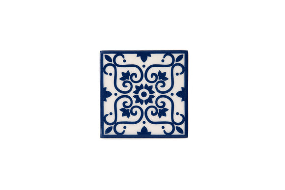 Wall Tile Blue Pattern 8 Small