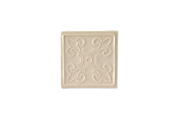 Art Nouveau White King Stamp Mini