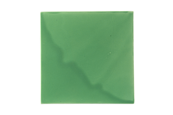 Art Nouveau Mint Plain Tile XL