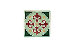 Art Nouveau Mint King Circle Mini