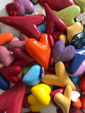 Mix of Hearts - 130 pieces Mosaic Inserts (on sale)