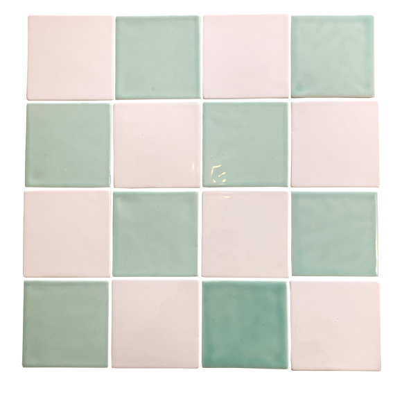 Art Deco Square Wall Tiles pre-packed in half square meter (on sale)