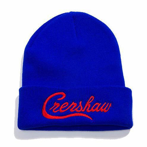 Crenshaw Beanie - Royal/Red - Image 1