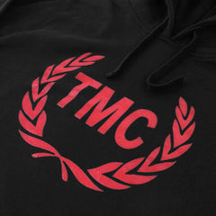 TMC Laurel Hoodie - Black/Red - Image 2