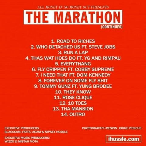 TMC - The Marathon Continues-The Marathon Clothing