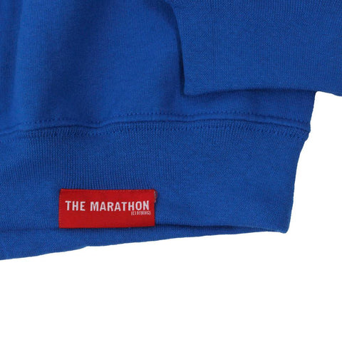 Crenshaw Sweatshirt - Royal/Yellow-The Marathon Clothing