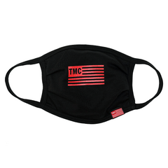 TMC Flag Face Mask - Black-The Marathon Clothing