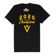 Crenshaw 2020 Year of the Champions T-Shirt - Black/Purple-The Marathon Clothing