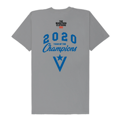 Crenshaw 2020 Year of the Champions T-Shirt - Grey/Blue-The Marathon Clothing