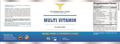 """MULTI-VITAMIN IN GUMS FOR ADULTS"""