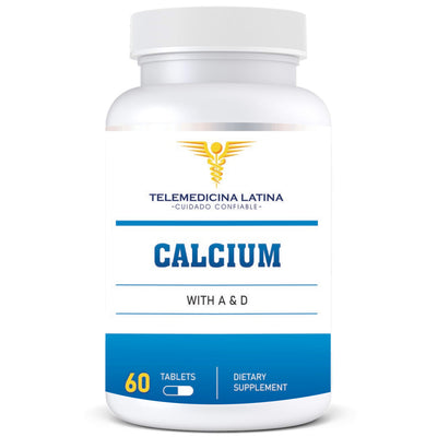 """CALCIUM COMPLEX WITH VITAMIN A & D"""