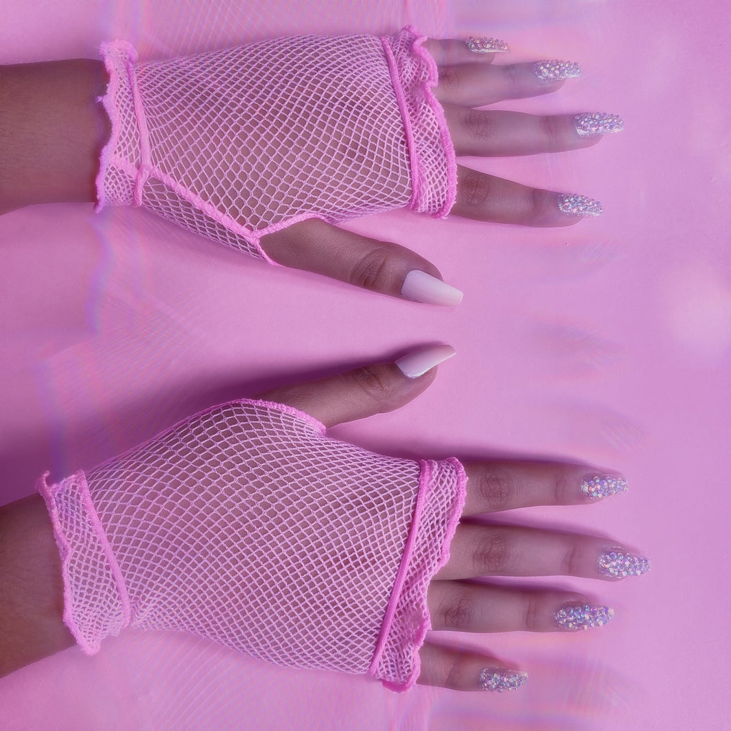 Its So Kylee Pink Gloves