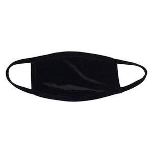 Naughty Black Velvet Dust Mask