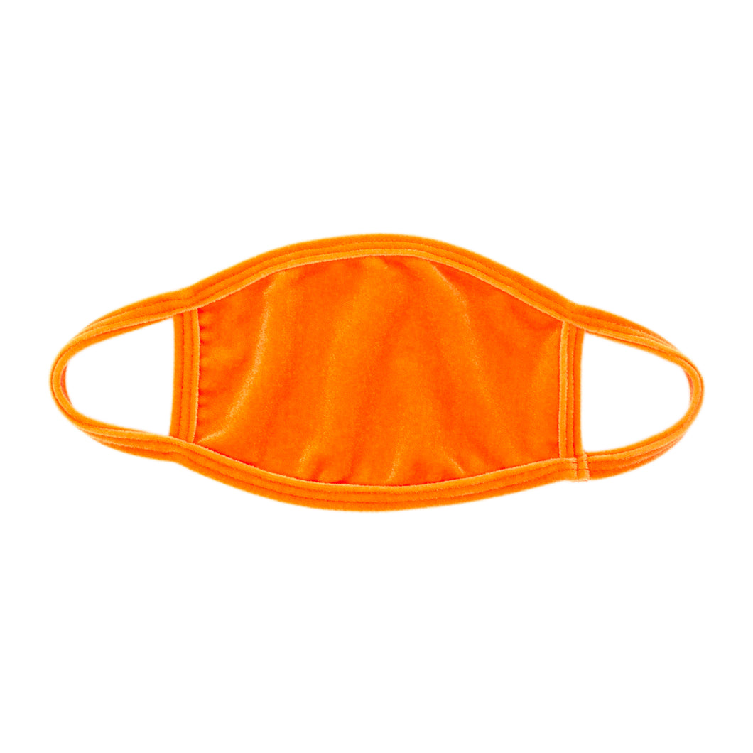 Orange Wave Dust Mask