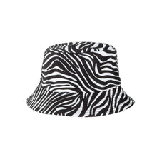 Load image into Gallery viewer, All Zebra Bucket Hat