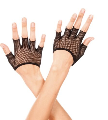 Biker Fishnet Gloves